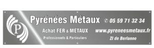 CAAP 64 -BANDEROLE-Pyrénées métaux